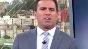 Rodrigo Bocardi fica revoltado ao noticiar bônus altíssimo pago pelo governo. Foto:Reprodução