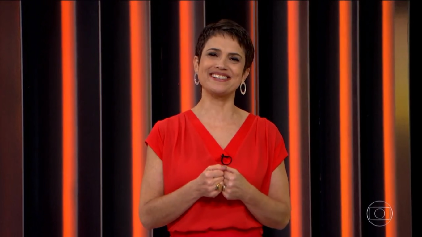 A jornalista Sandra Annemberg deve perder programa melhor (Foto: Reprodução)