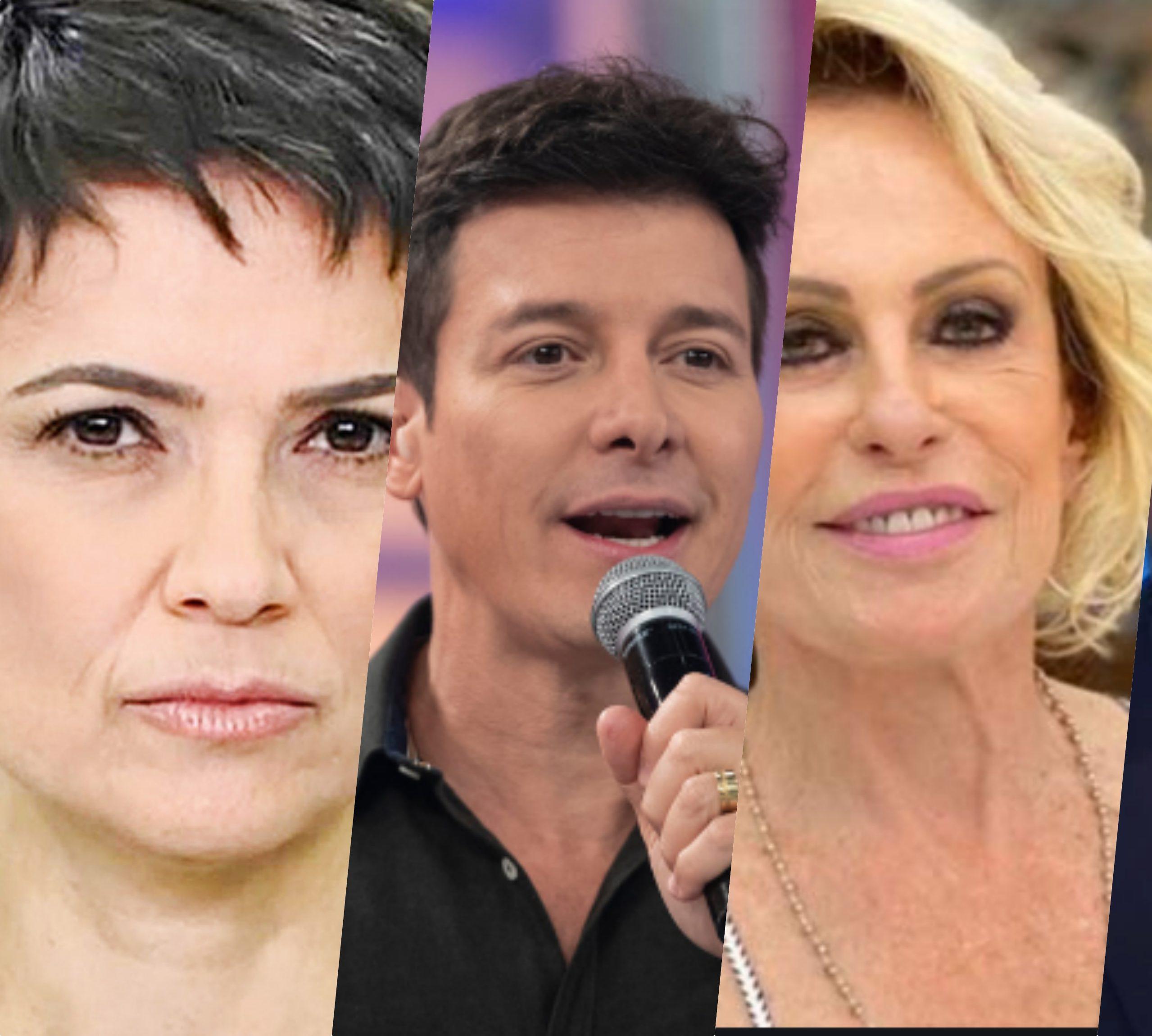Sandra Annenberg, Rodrigo Faro, Ana Maria e William Bonner recebem previsão de sensitiva (Foto reprodução)