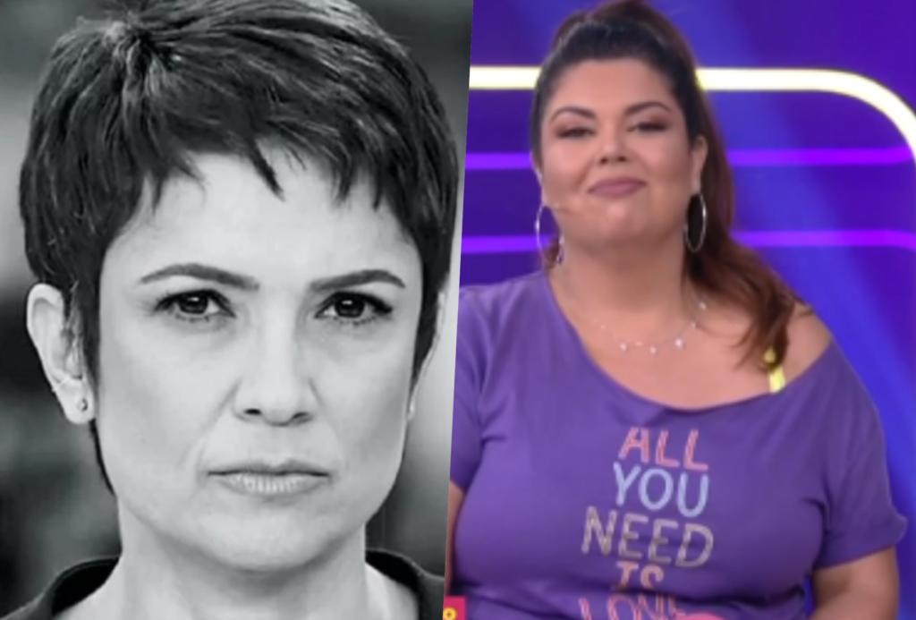 Sandra Annenberg e Fabiana Karla em outras que estão dando Adeus na Globo