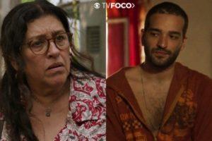 Lurdes e Sandro em Amor de Mãe
