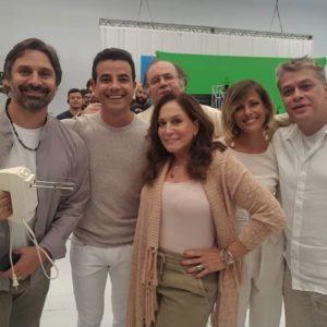 Susana Vieira e elenco da Globo (Imagem: Instagram)