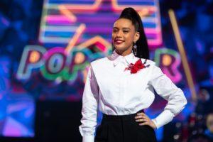 Tais Araujo comanda a Semifinal do Popstar — (Foto: Samuel Kobayashi / Gshow)