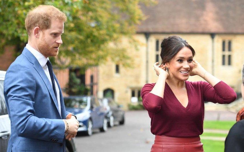 Príncipe Harry e Meghan Markle não participaram das comemorações de Natal com a Família Real (Foto: Reprodução)