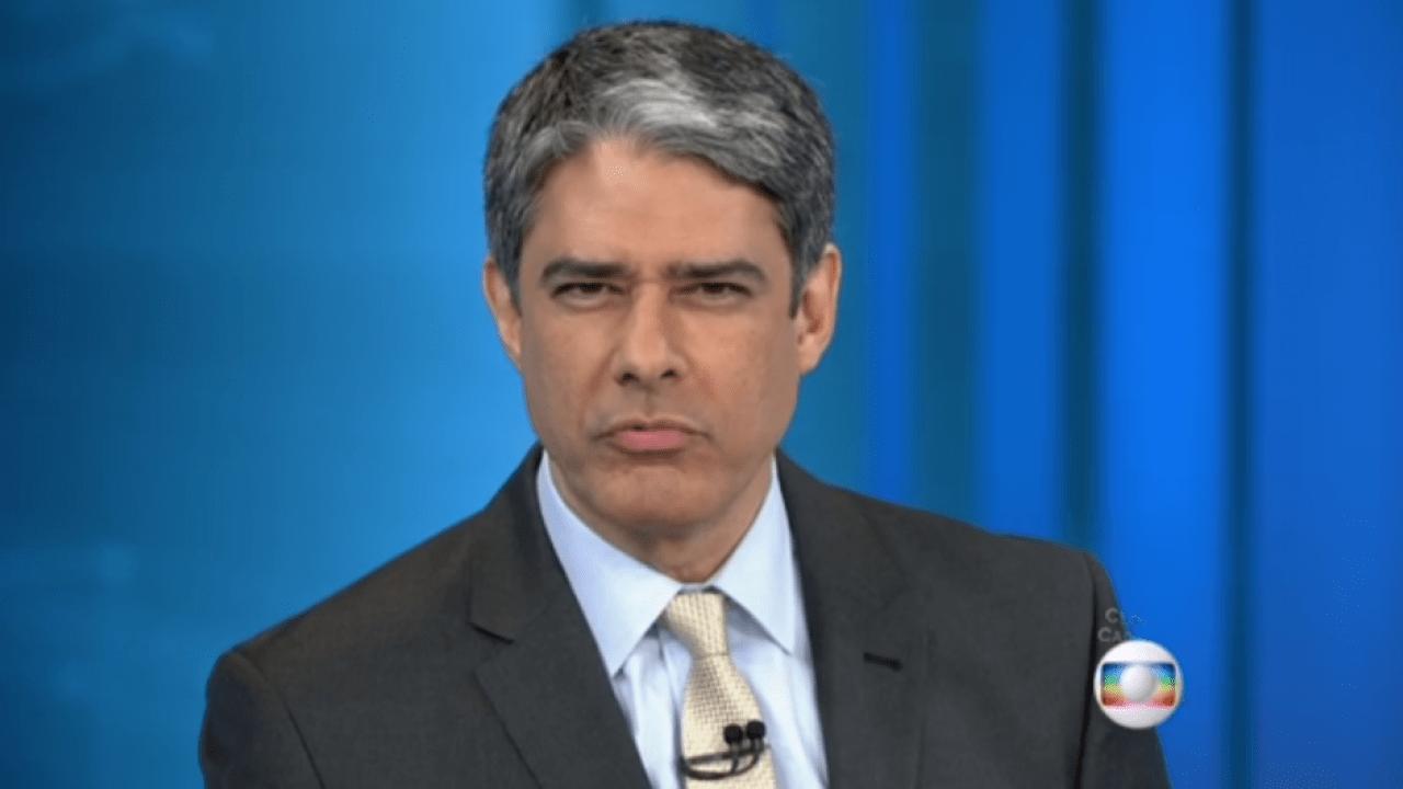 O famoso apresentador do Jornal Nacional da Globo, William Bonner já foi alvo de diversas polêmicas ao longo de sua extensa carreira (Foto: Reprodução/Globo)
