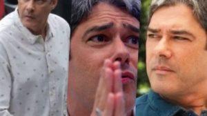 William Bonner teve série de segredos revelados para o Brasil (Foto montagem: TV Foco)