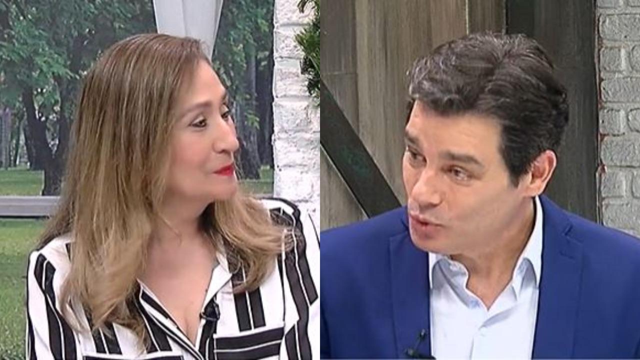 Sonia Abrão e Celso Portiolli (Foto: Reprodução/RedeTV!/Montagem TV Foco)