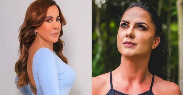 Zilu Godoi e Graciele Lacerda se evitam durante aniversário do filho de Wanessa Camargo. Foto: Reprodução