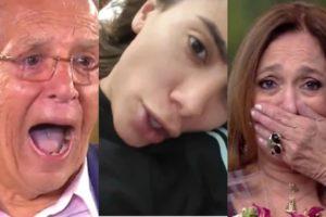 Carlos Alberto de Nóbrega, Anitta e Susana Vieira (Foto: Reprodução/SBT/Instagram/Globoplay)