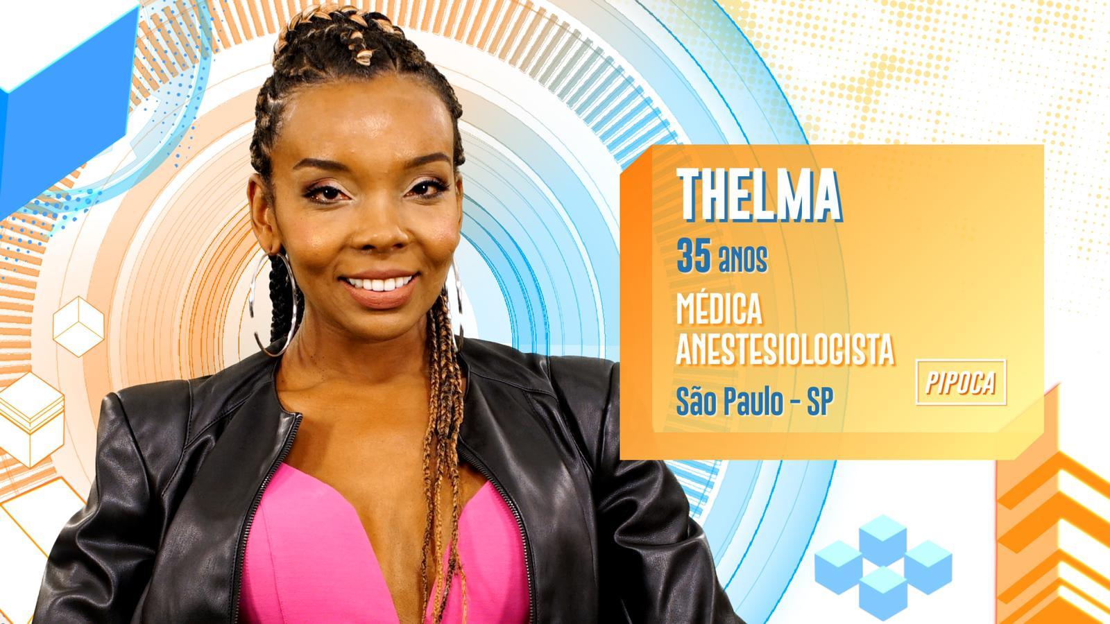 Thelma BBB20 (Foto: Divulgação/ Instagram)