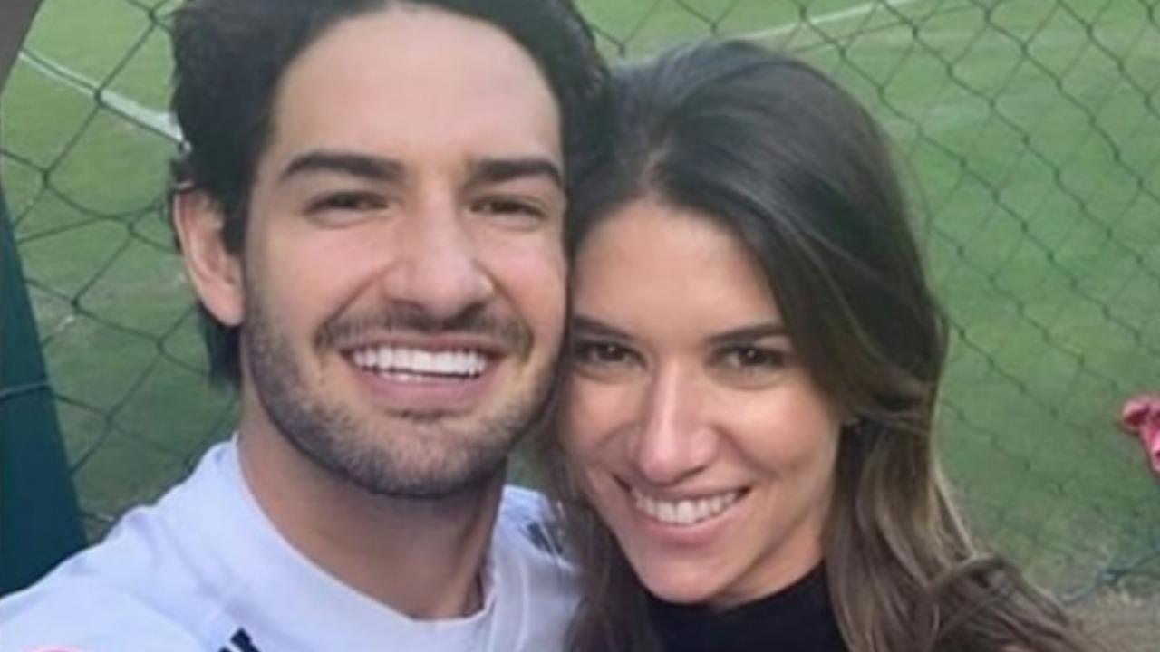 Alexandre Pato e Rebeca Abravanel (Foto: Reprodução/Instagram)