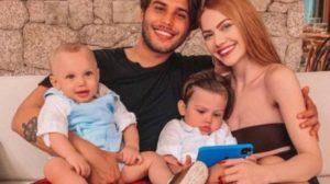 Sarah Poncio e Jonathan Couto são pais de José e João (Foto: Reprodução/ Instagram)