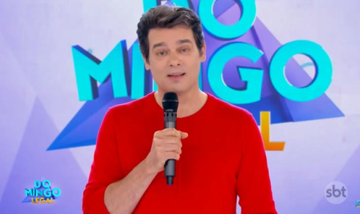 O apresentador Celso Portiolli fez piada considerada homofóbica (Foto: Reprodução)