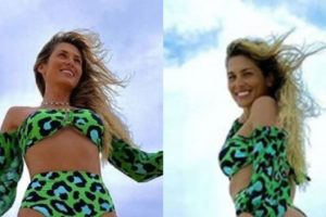 Lívia Andrade está aproveitando bastante as férias em Jericoacoara, no Ceará (Foto: Montagem/TV Foco)