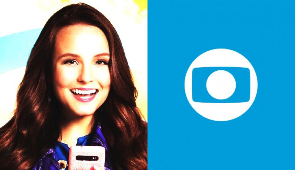 Larissa Manoela é a nova estrela da TV Globo (Foto: Montagem/TV Foco)