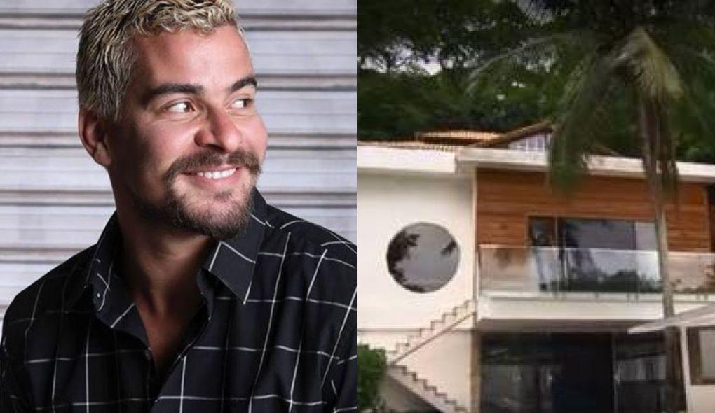 Thiago Martins adquiriu mansão milionária próximo a praia (Foto: Montagem/TV Foco)
