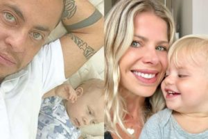 Filhos Thammy Miranda e Karina Bacchi têm algo em comum (Foto: Montagem/TV Foco)