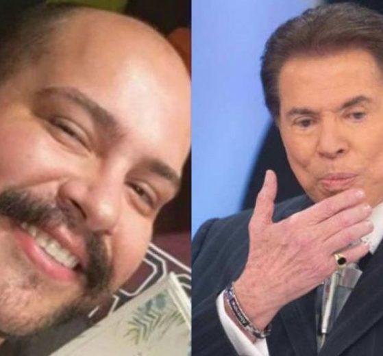 Tiago Abravanel e Silvio Santos (Foto: Montagem)