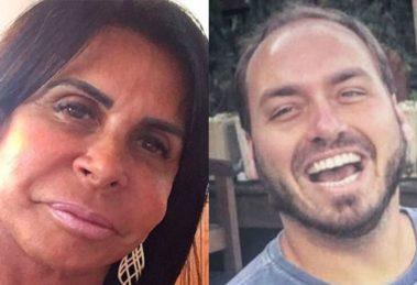 Gretchen ameaçou processar Carlos Bolsonaro após zoação com Thammy Miranda em redes sociais (Foto: Montagem/TV Foco)
