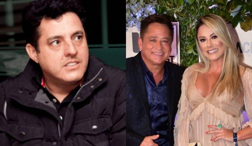 Bruno foi acusado de estar dando e cima da esposa do amigo Leonardo (Foto: Montagem/TV Foco)