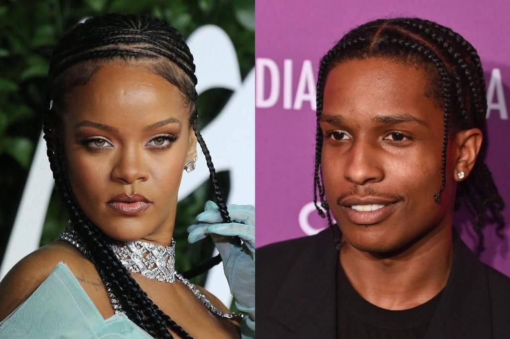 Rihanna pode está vivendo romance com A$AP Rocky (Foto: Reprodução)