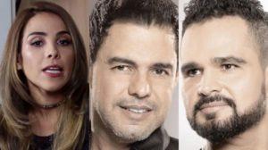 Wanessa Camargo, Zezé e Luciano Camargo (Foto: Montagem/TV Foco)