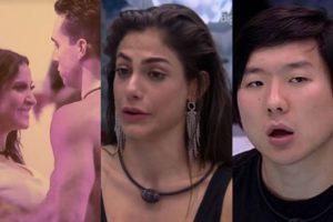 Primeiro final de semana do BBB20 foi bastante agitado (Foto: Montagem/TV Foco)