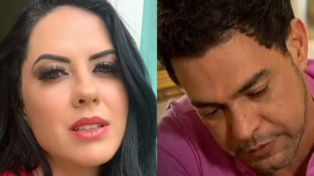 Graciele Lacerda e Zezé Di Camargo (Foto: Reprodução/Instagram/Montagem TV Foco)