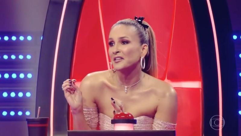 Claudia Leitte no The Voice Kids, que registrou pior audiência em três anos (Foto: Reprodução/Globo)