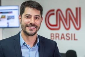 Evaristo Costa será um dos apresentadores do novo canal de notícias (foto: divulgação/CNN Brasil)