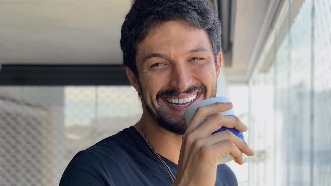 Hoje ator da Globo, Rômulo Estrela (Foto: Reprodução)
