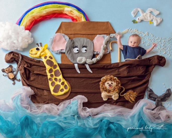 Projeto Precious Baby, com crianças especiais e em estado terminal (Foto: Angela Forker)