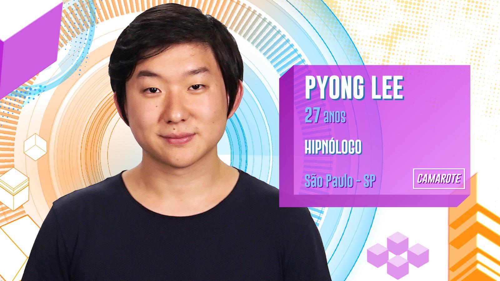 Pyong Lee no BBB20 (Foto: Reprodução/ Globo)