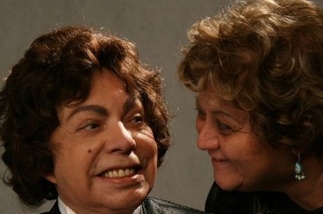 Cauby Peixoto e Nancy Lara (Foto: Reprodução/Facebook)
