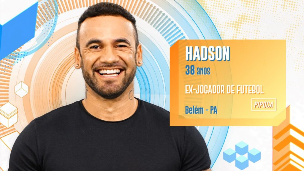 Hadson é o novo participante do BBB20 (Foto: Divulgação/ Globo)