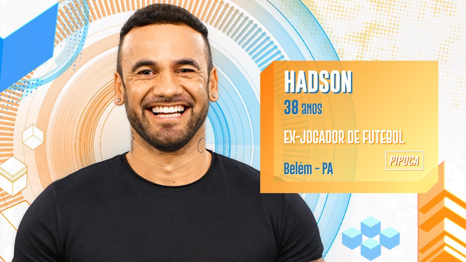 Hadson no BBB20 (Foto: Divulgação/ Globo)