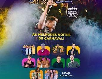 Carnaval das Artes reúne grandes artistas em sua 2ª edição no Rio de janeiro (Foto: Divulgação)