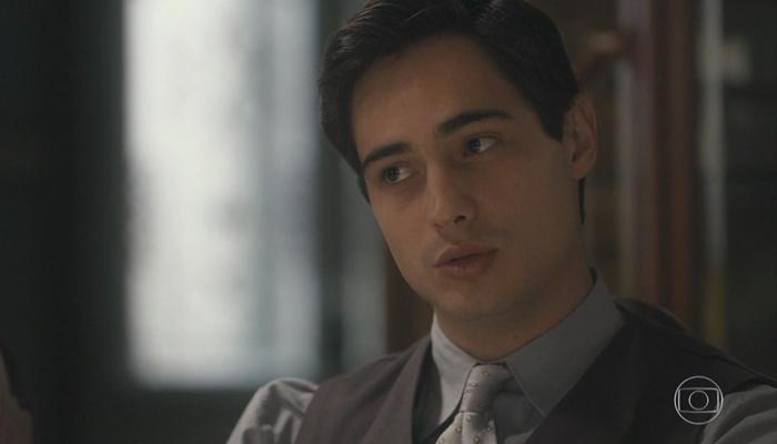 Carlos (Danilo Mesquita) em Éramos Seis (Foto: Reprodução/Globo)