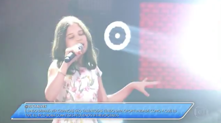 Internautas reclamaram do GC usado pela Globo na estreia do The Voice Kids