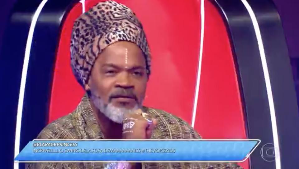 Internautas reclamaram do GC usado pela Globo na estreia do The Voice Kids