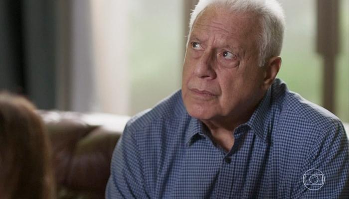Alberto (Antonio Fagundes) ficará à beira da morte em Bom Sucesso (Foto: Reprodução/Globo)