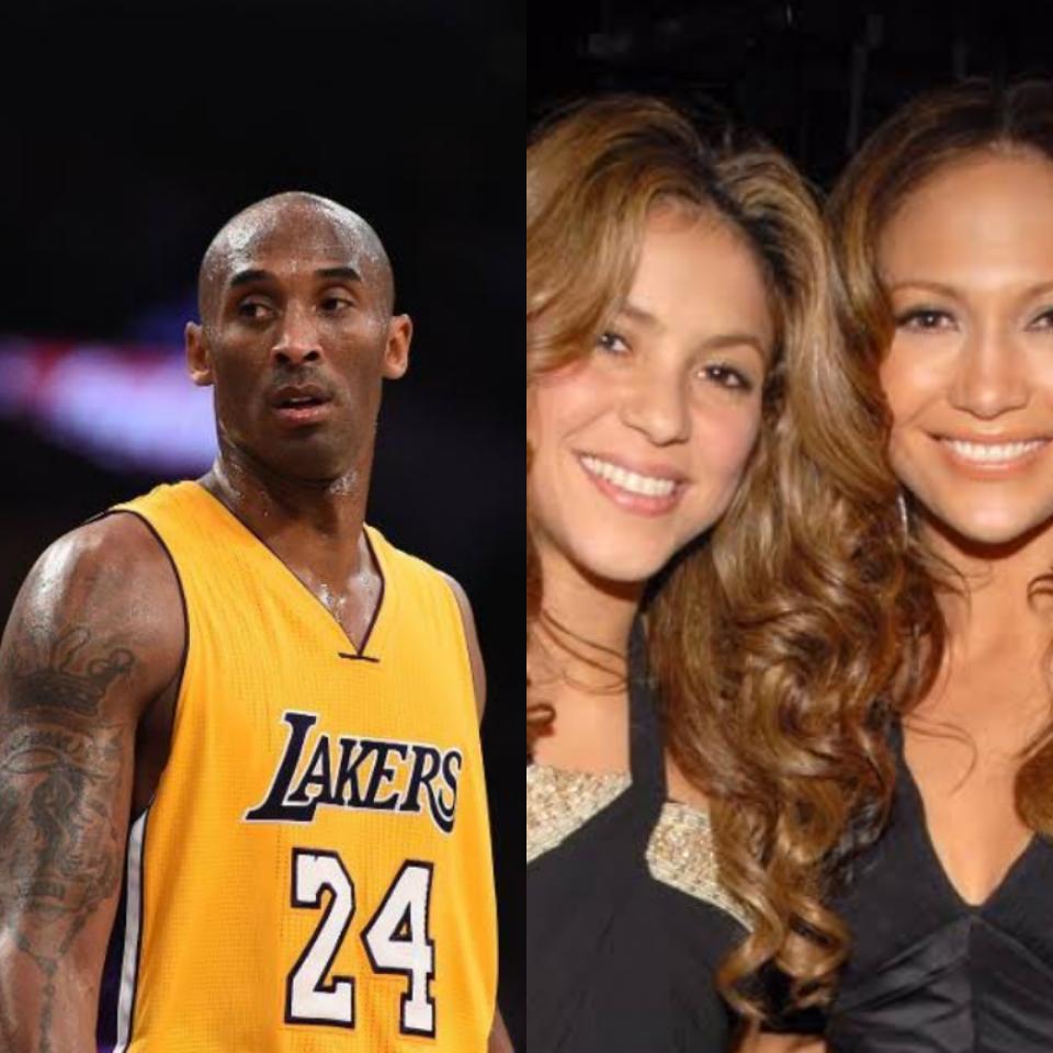 Shakira e Jennifer Lopez farão homenagem a Kobe Bryant no Super Bowl (Foto: Reprodução)