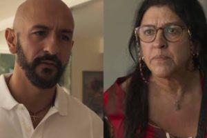 Lurdes tocará terror em Álvaro em Amor de Mãe (Montagem: TV Foco)