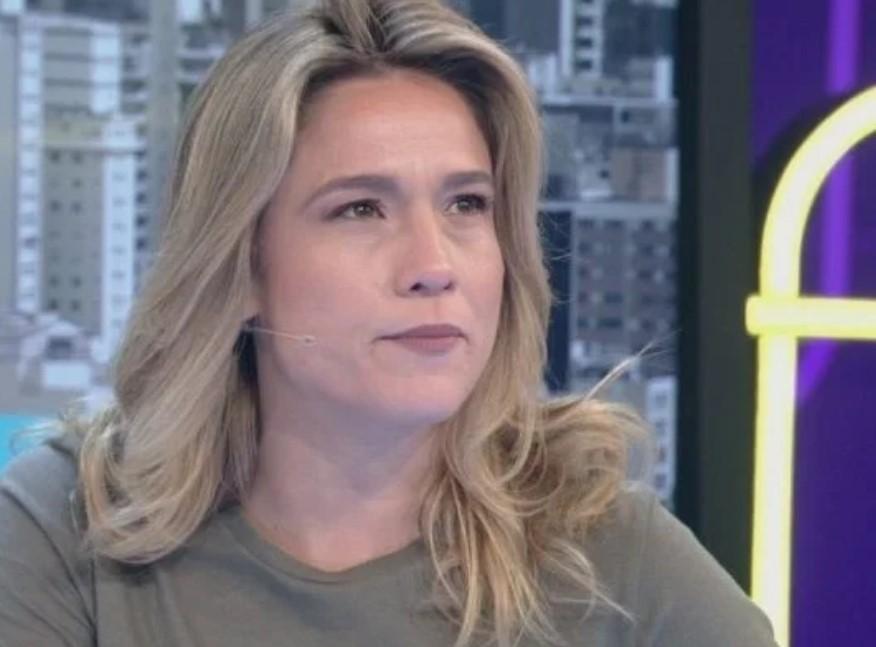 Fernanda Gentil no programa Se Joga, da Globo (Foto: Reprodução)