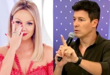 A apresentadora Eliana deixou Rodrigo Faro na vice novamente - Foto: Reprodução/Montagem