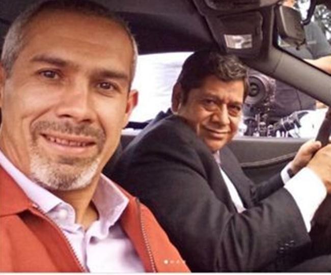 São Jorge Navarro Sánchez e Luis Gerardo Rivera (Foto: Reprodução)