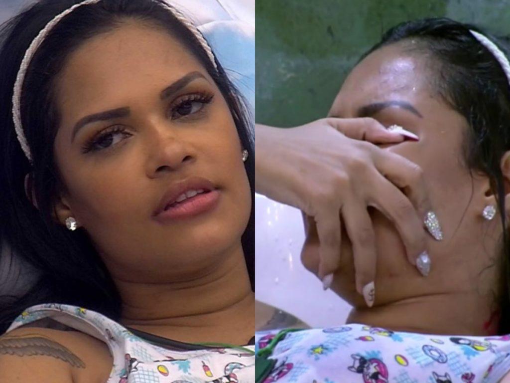 O famoso reality show da Globo, Big Brother Brasil ou BBB 20, como é mais conhecido, mal começou e Flayslane já sente saudades de casa (foto: Montagem TV Foco)