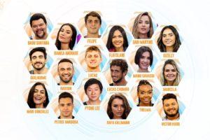 Participantes do BBB20 da Globo (Imagem: Divulgação)
