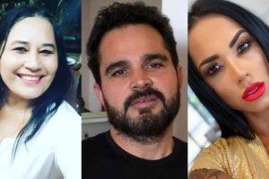Cleo Loyola, Luciano Camargo e Kamila Simioni (Foto: Reprodução/Instagram/Montagem TV Foco)