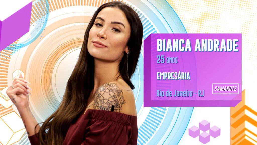 Participantes Famosos Bianca Andrade (Foto: Divulgação/ Globo)